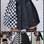BlissGirl - Split Personality Skirt - Harajuku - Kawaii - Alternative - Fashion