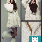 BlissGirl - Teddy Bear Jacket - Harajuku - Kawaii - Alternative - Fashion