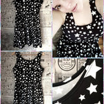 BlissGirl - Wish On A Star Skater Dress - XS - Harajuku - Kawaii - Alternative - Fashion