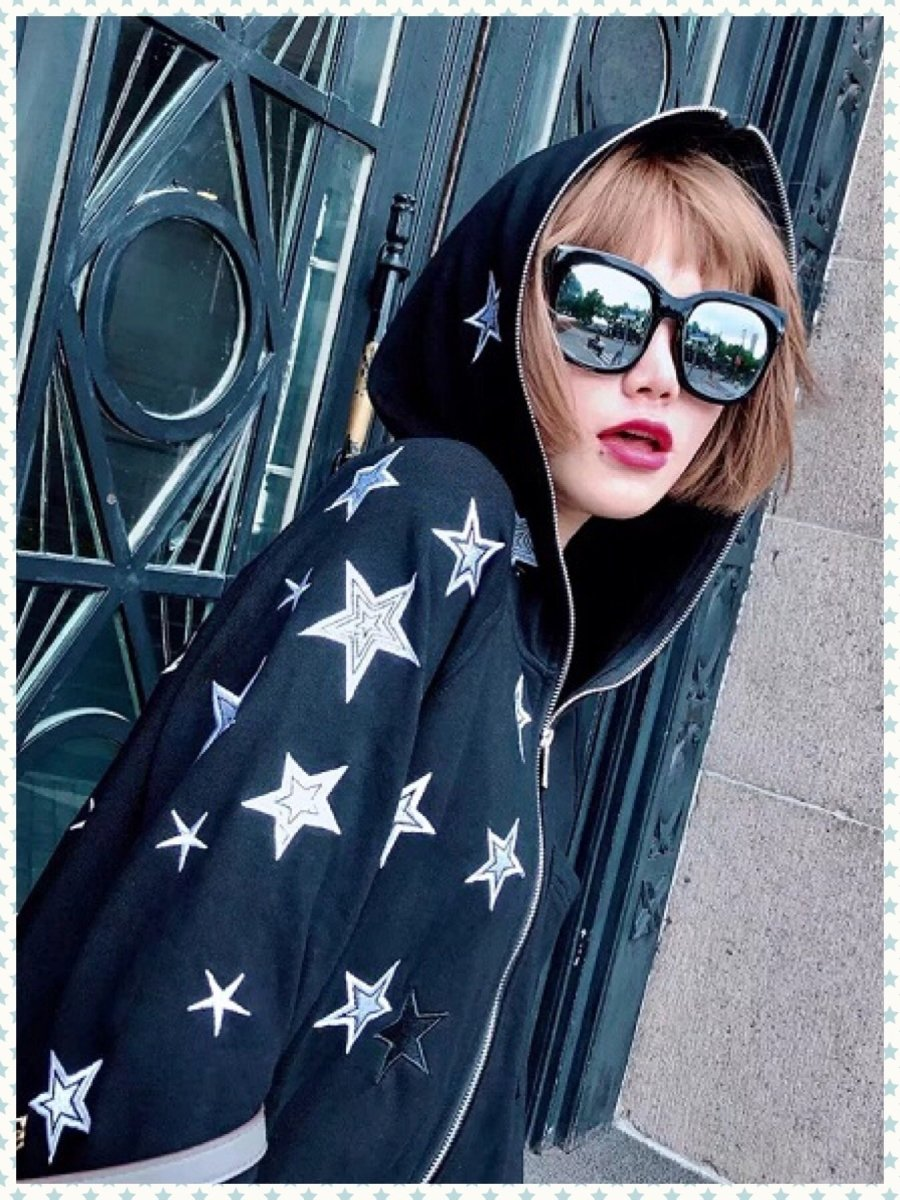 BlissGirl - Wish Upon A Star Hoodie - S - Harajuku - Kawaii - Alternative - Fashion