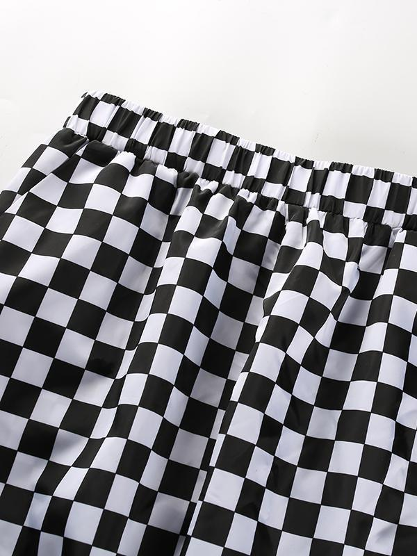 BlissGirl - Checkered Pants - - Harajuku - Kawaii - Alternative - Fashion