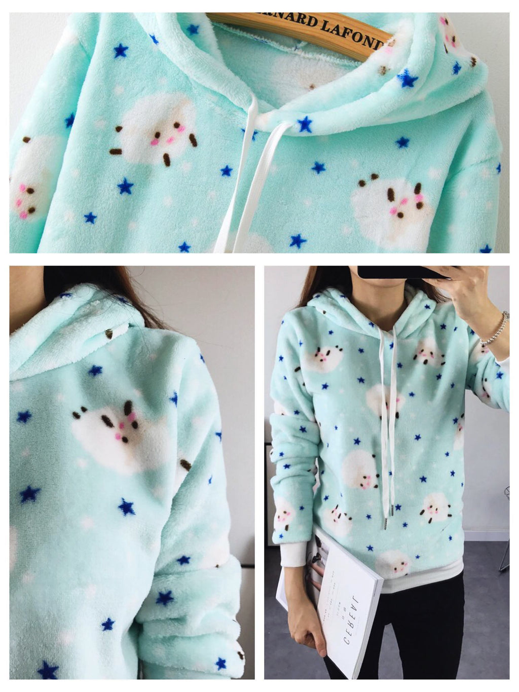 BlissGirl - Cute and Soft Hoodies - - Harajuku - Kawaii - Alternative - Fashion