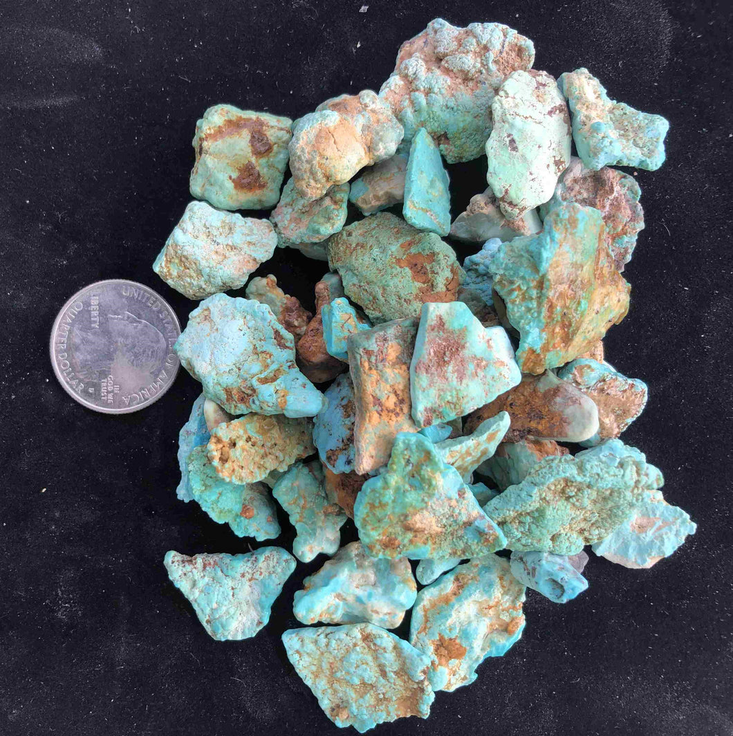 Natural Kingaman Turquoise - Arizona