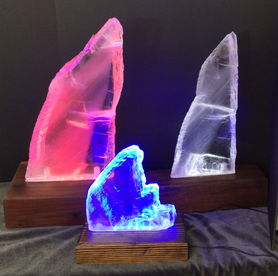 Selenite Lamps