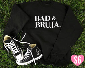 Bad & Bruja Crew Neck Sweater