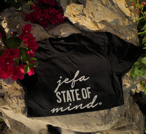Jefa State of Mind Tee- Black