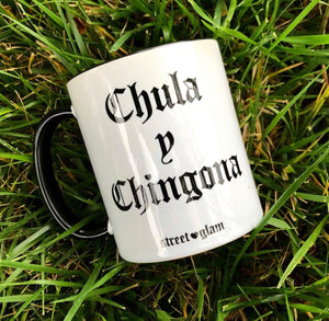 Chula y Chingona Coffee Mug- Black
