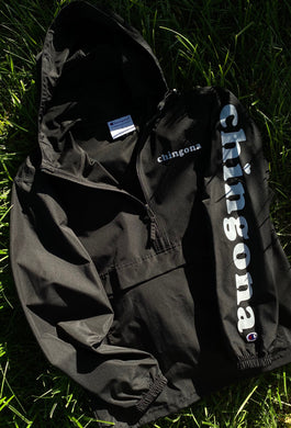 Champion Chingona Windbreaker- Black