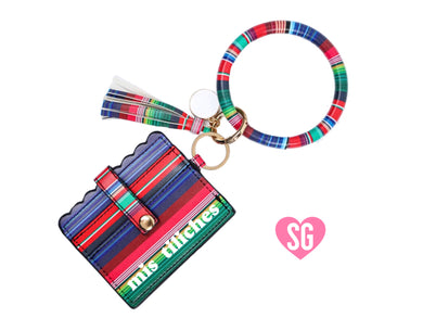 Mis Tiliches Card Holder- Sarape