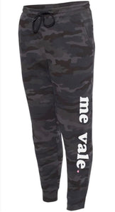 Me Vale Black Camo Sweatpants
