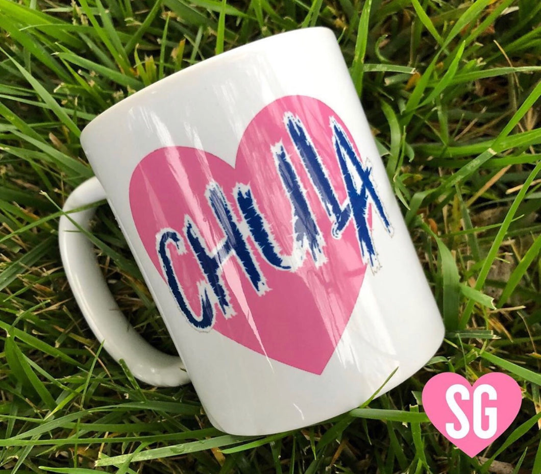 Chula Heart Coffee Mug