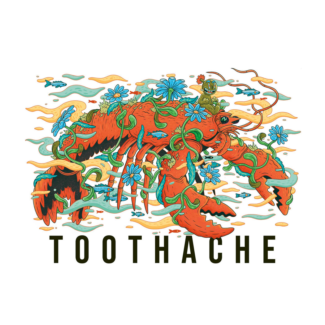 TOOTHACHE 06 x GWIL T-SHIRT