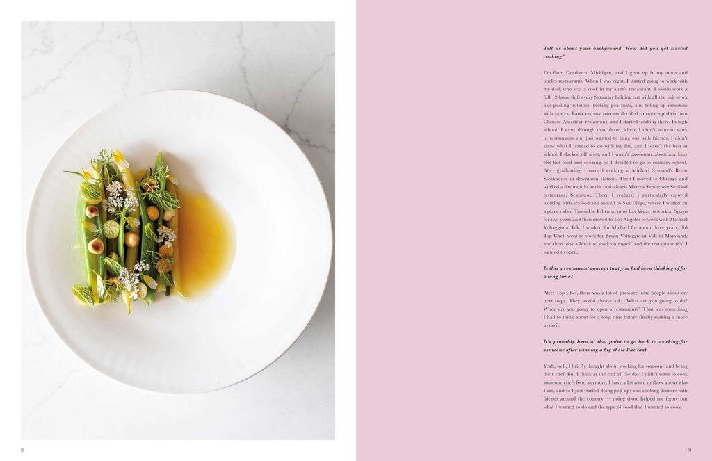 Toothache Magazine issue 6 - Mei Lin, food photo. A magazine made for chefs by chefs. Features food articles, interviews, and recipes from world class chefs.