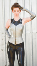 Moulded Over-bust Latex Corset