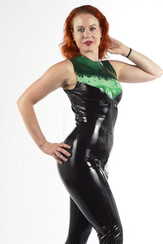 Laycette Sleeveless Catsuit