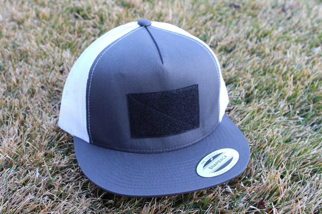The Classic Gray Two-Tone Hat