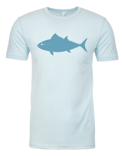 The Original Tuna Tee - Sky Blue