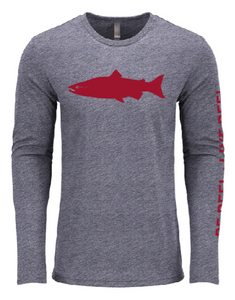 The Original Salmon Tee - Charcoal