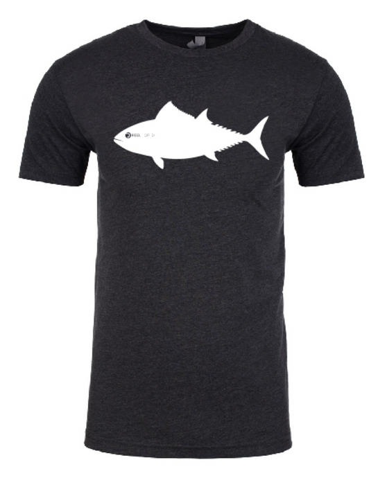 The Original Tuna Tee - Charcoal