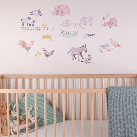 Sticker-mural-chambre-bebe-animaux-ferme-lovemae