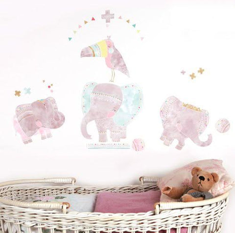 Sticker-mural-chambre-bebe-elephants-lovemae