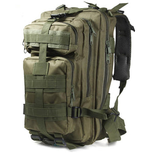 Camo Military Geology Backpack