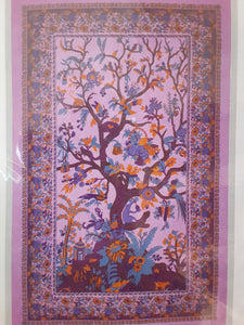 Tree of Life Tapestry - Purple