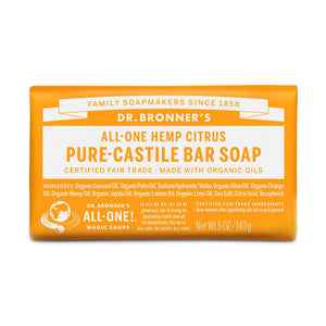 Dr. Bronner's Pure Castile Bar Soap - Citrus