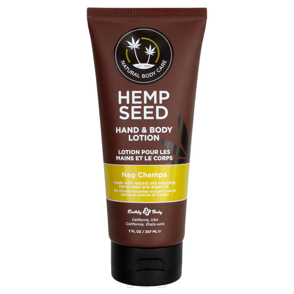 Hemp Seed Hand and Body Lotion - Nag Champa