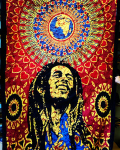 Bob Marley World Tapestry