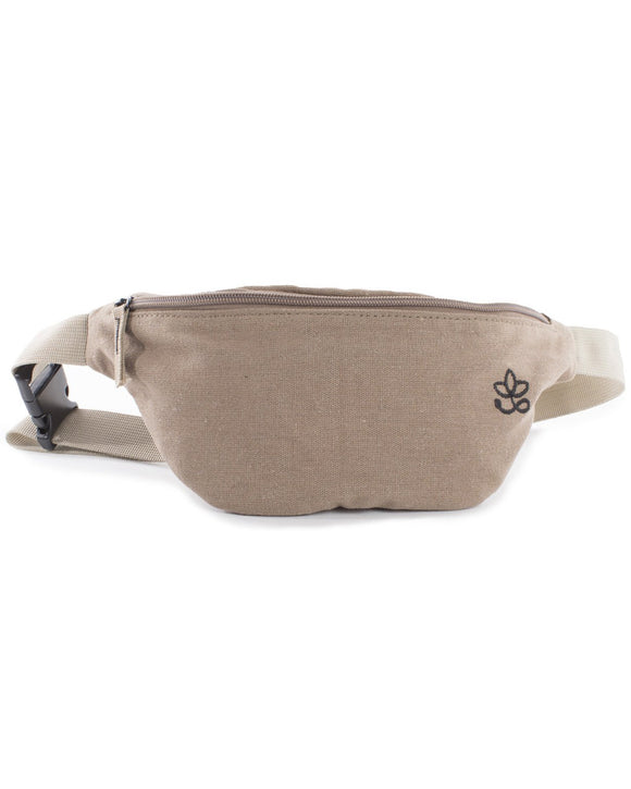 Hemp Hip Bag - Khaki