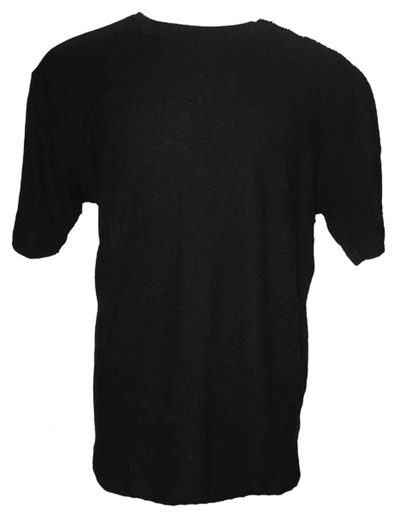 Blank Hemp T-Shirt - Black