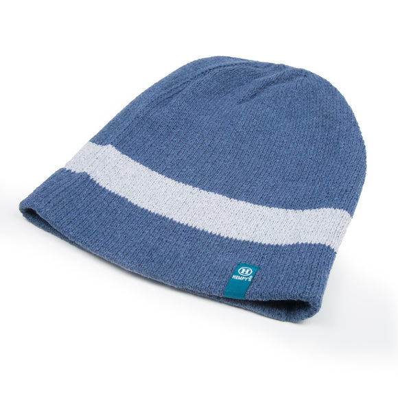 Hemp Kona Super Slouch Beanie - Blue