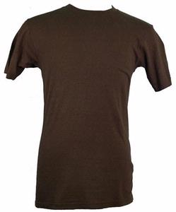Blank Hemp T-Shirt - Brown