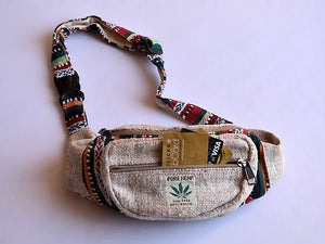 Hemp and Cotton Fanny Pack