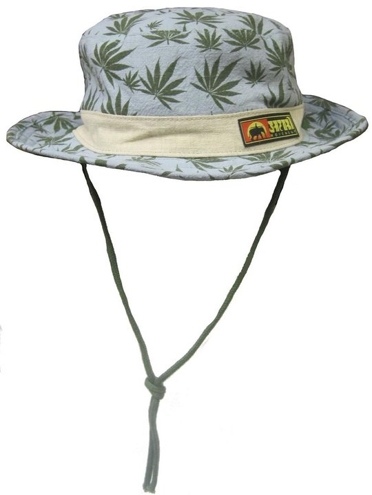 Emerald Flora Reversible Bucket Hat