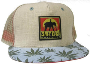 Emerald Flora Trucker Hat