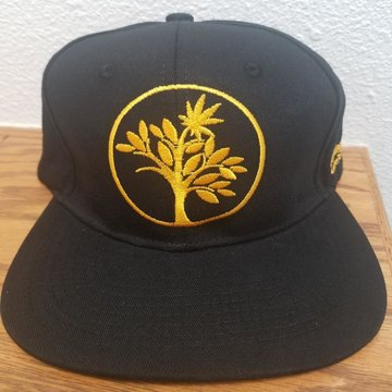 Talking Trees Farms Snapback Hat - Black