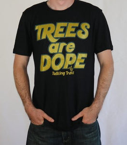 Trees are Dope Hemp T-Shirt - Black