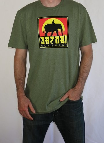 Elephant Hemp T-Shirt - Sage