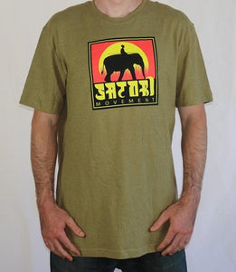 Elephant Hemp T-Shirt - Sand