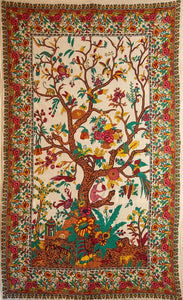Tree of Life Tapestry - Single - Natural