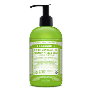 Organic Pump Soap - Lemongrass Lime
