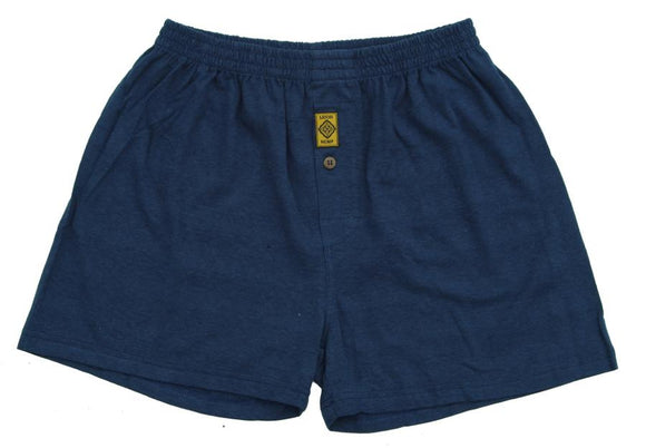 Hemp Boxers - Navy Blue