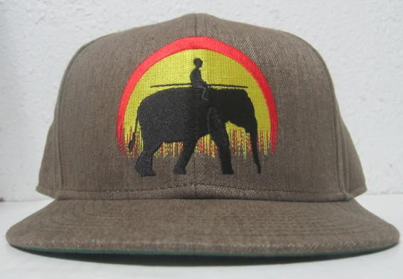 Classic Elephant Fitted Hat - Dark Sand