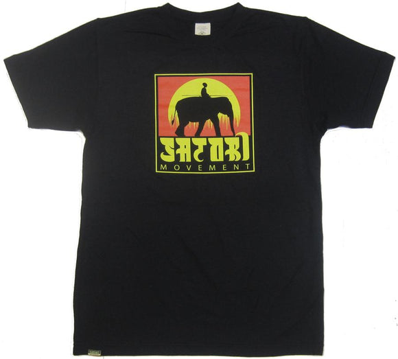 Elephant Hemp T-Shirt - Black
