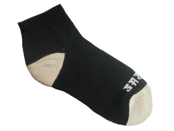 Warrior Ankle Sock - Black