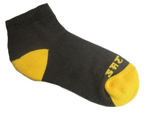 Warrior Ankle Sock - Brown