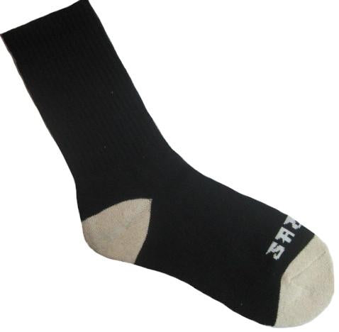 Warrior Crew Sock - Black