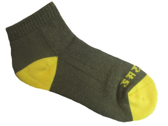 Warrior Ankle Sock - Green